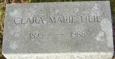 HEIL, CLARA MARIE - Franklin County, Ohio   CLARA MARIE HEIL - Ohio Gravestone Photos