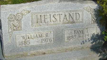 HEISTAND, WILLIAM - Franklin County, Ohio | WILLIAM HEISTAND - Ohio Gravestone Photos