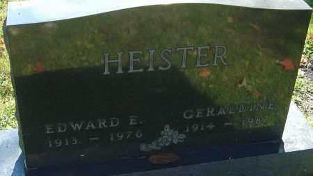 HEISTER, GERALDINE - Franklin County, Ohio   GERALDINE HEISTER - Ohio Gravestone Photos