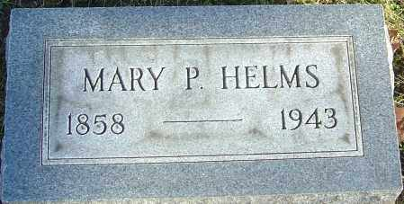 PERDUE HELMS, MARY - Franklin County, Ohio | MARY PERDUE HELMS - Ohio Gravestone Photos