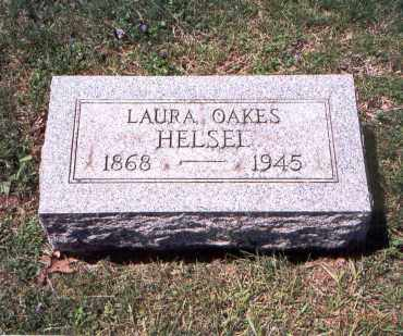 HELSEL, LAURA OAKES - Franklin County, Ohio   LAURA OAKES HELSEL - Ohio Gravestone Photos
