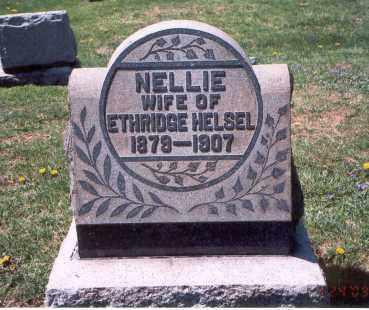 HELSEL, NELLIE - Franklin County, Ohio | NELLIE HELSEL - Ohio Gravestone Photos