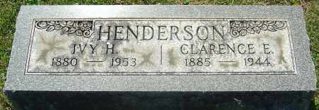 HENDERSON, CLARENCE E - Franklin County, Ohio   CLARENCE E HENDERSON - Ohio Gravestone Photos