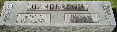 HENDERSON, HARRY H - Franklin County, Ohio | HARRY H HENDERSON - Ohio Gravestone Photos