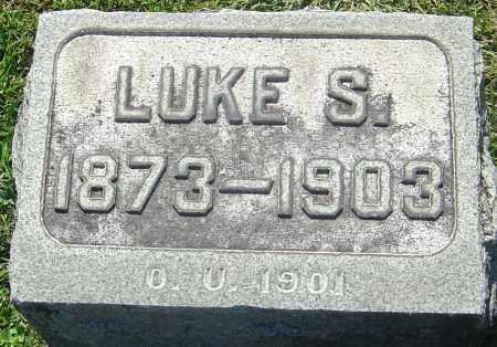 HENDRICKSON, LUKE S - Franklin County, Ohio | LUKE S HENDRICKSON - Ohio Gravestone Photos