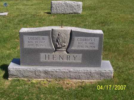 HENRY, GOLDIE MAE - Franklin County, Ohio | GOLDIE MAE HENRY - Ohio Gravestone Photos