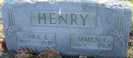WARDLOW HENRY, CORA - Franklin County, Ohio | CORA WARDLOW HENRY - Ohio Gravestone Photos