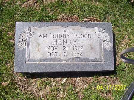HENRY, WILLIAM FLOOD (BUDDY) - Franklin County, Ohio   WILLIAM FLOOD (BUDDY) HENRY - Ohio Gravestone Photos