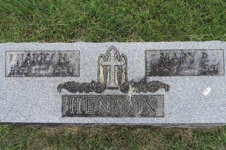 HENSON, MARY P. - Franklin County, Ohio | MARY P. HENSON - Ohio Gravestone Photos