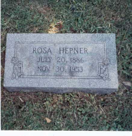 ABELE HEPNER, ROSA - Franklin County, Ohio | ROSA ABELE HEPNER - Ohio Gravestone Photos