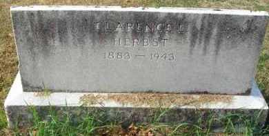 HERBST, CLARENCE L. - Franklin County, Ohio   CLARENCE L. HERBST - Ohio Gravestone Photos