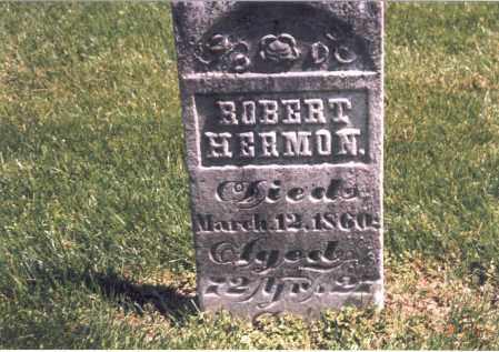 HERMON, ROBERT - Franklin County, Ohio   ROBERT HERMON - Ohio Gravestone Photos