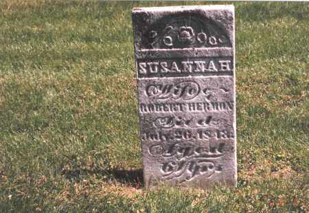 HERMON, SUSANNAH - Franklin County, Ohio | SUSANNAH HERMON - Ohio Gravestone Photos
