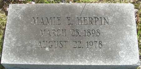 HERPIN, MAMIE E - Franklin County, Ohio   MAMIE E HERPIN - Ohio Gravestone Photos