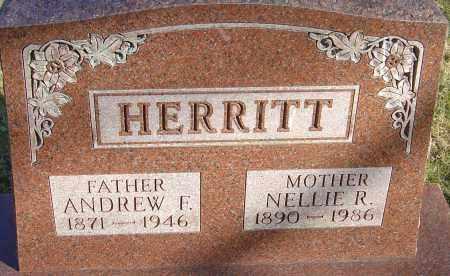 HERRITT, NELLIE R - Franklin County, Ohio | NELLIE R HERRITT - Ohio Gravestone Photos