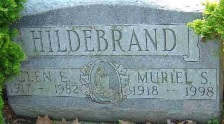 HILDEBRAND, GLEN E - Franklin County, Ohio | GLEN E HILDEBRAND - Ohio Gravestone Photos