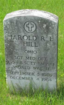 HILL, HAROLD R.E. - Franklin County, Ohio   HAROLD R.E. HILL - Ohio Gravestone Photos