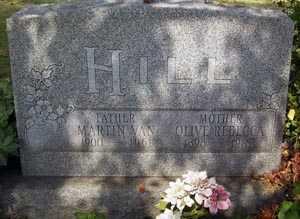 PLYMALE HILL, OLIVE REBECCA - Franklin County, Ohio | OLIVE REBECCA PLYMALE HILL - Ohio Gravestone Photos