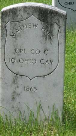 HILL, MATTHEW - Franklin County, Ohio   MATTHEW HILL - Ohio Gravestone Photos
