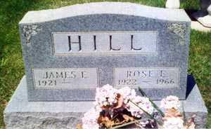 HILL, ROSE EDNA - Franklin County, Ohio | ROSE EDNA HILL - Ohio Gravestone Photos