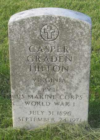 HILTON, CASPER GRADEN - Franklin County, Ohio   CASPER GRADEN HILTON - Ohio Gravestone Photos