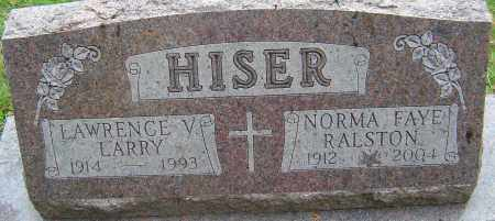 HISER, NORMA FAYE - Franklin County, Ohio | NORMA FAYE HISER - Ohio Gravestone Photos