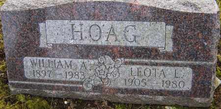 HOAG, LEOTA - Franklin County, Ohio | LEOTA HOAG - Ohio Gravestone Photos