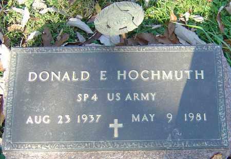 HOCHMUTH, DONALD E - Franklin County, Ohio | DONALD E HOCHMUTH - Ohio Gravestone Photos