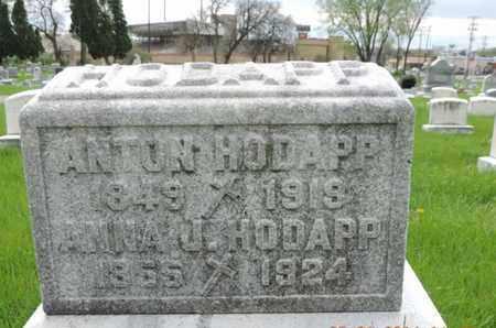 HODAPP, ANTON - Franklin County, Ohio | ANTON HODAPP - Ohio Gravestone Photos