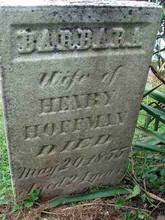 HOFFMAN, BARBARA - Franklin County, Ohio | BARBARA HOFFMAN - Ohio Gravestone Photos