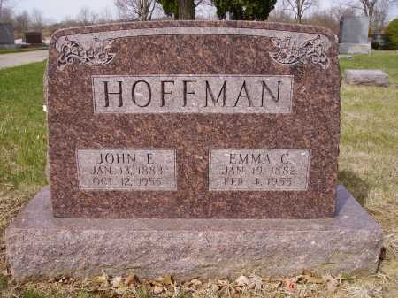 HOFFMAN, EMMA C. - Franklin County, Ohio | EMMA C. HOFFMAN - Ohio Gravestone Photos