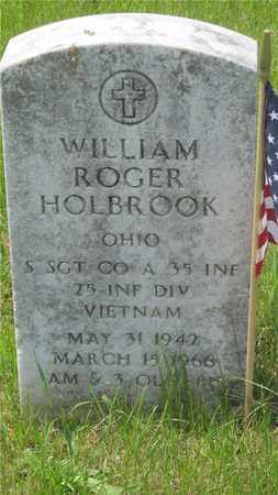 HOLBROOK, WILLIAM ROGER - Franklin County, Ohio | WILLIAM ROGER HOLBROOK - Ohio Gravestone Photos