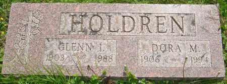 HOLDREN, DORA M - Franklin County, Ohio | DORA M HOLDREN - Ohio Gravestone Photos