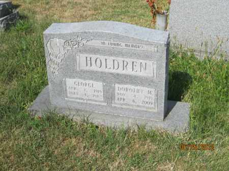HOLDREN, DOROTHY M - Franklin County, Ohio | DOROTHY M HOLDREN - Ohio Gravestone Photos
