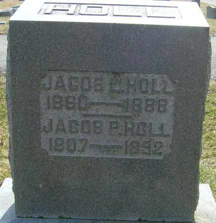 HOLL, JACOB P - Franklin County, Ohio | JACOB P HOLL - Ohio Gravestone Photos