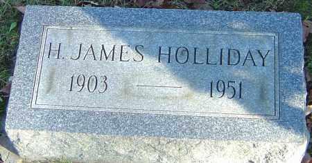 HOLLIDAY, HOMER JAMES - Franklin County, Ohio | HOMER JAMES HOLLIDAY - Ohio Gravestone Photos