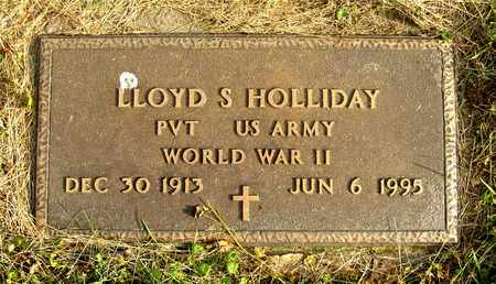 HOLLIDAY, LLOYD S. - Franklin County, Ohio | LLOYD S. HOLLIDAY - Ohio Gravestone Photos