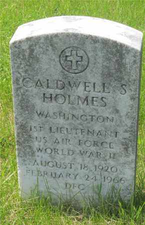 HOLMES, CALDWELL S. - Franklin County, Ohio | CALDWELL S. HOLMES - Ohio Gravestone Photos