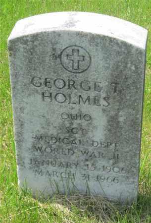 HOLMES, GEORGE T. - Franklin County, Ohio | GEORGE T. HOLMES - Ohio Gravestone Photos