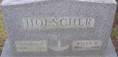 HOLSCHER, HELEN - Franklin County, Ohio | HELEN HOLSCHER - Ohio Gravestone Photos