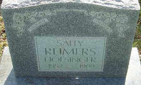 REIMERS HOLSINGER, SALLY - Franklin County, Ohio | SALLY REIMERS HOLSINGER - Ohio Gravestone Photos