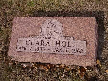 HOLT, CLARA - Franklin County, Ohio | CLARA HOLT - Ohio Gravestone Photos