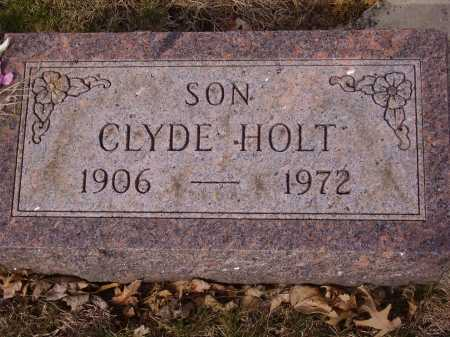 HOLT, CLYDE - Franklin County, Ohio | CLYDE HOLT - Ohio Gravestone Photos
