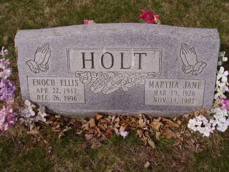 HOLT, MARTHA JANE - Franklin County, Ohio | MARTHA JANE HOLT - Ohio Gravestone Photos