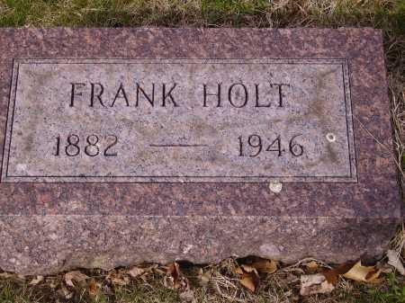 HOLT, FRANK - Franklin County, Ohio   FRANK HOLT - Ohio Gravestone Photos