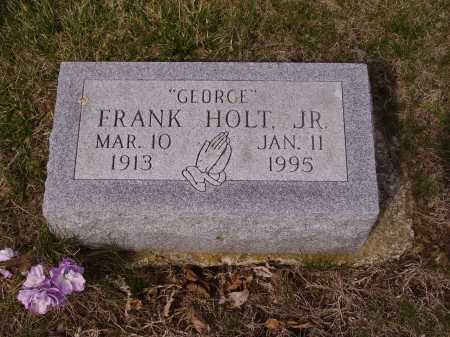 "HOLT, FRANK ""GEORGE"" - Franklin County, Ohio | FRANK ""GEORGE"" HOLT - Ohio Gravestone Photos"