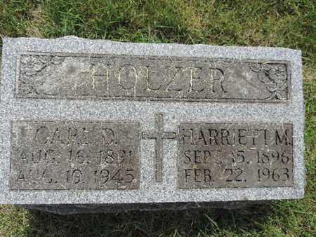 HOLZER, HARRIETT M. - Franklin County, Ohio | HARRIETT M. HOLZER - Ohio Gravestone Photos