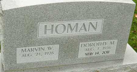 HOMAN, DOROTHY - Franklin County, Ohio | DOROTHY HOMAN - Ohio Gravestone Photos