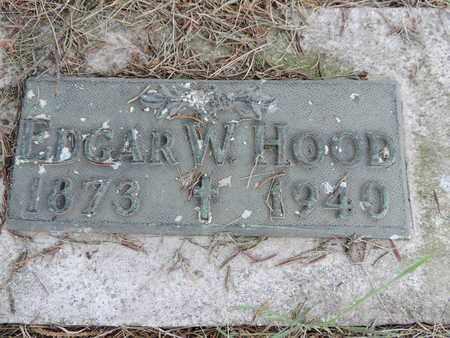 HOOD, EDGAR W. - Franklin County, Ohio | EDGAR W. HOOD - Ohio Gravestone Photos