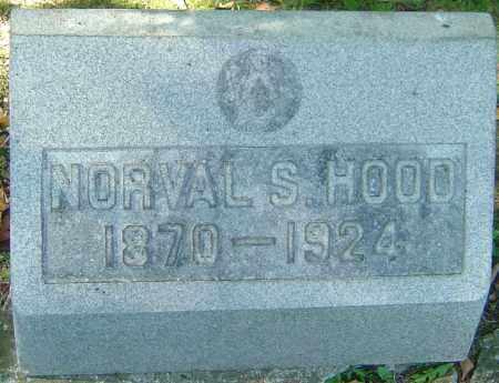 HOOD, NORVAL S - Franklin County, Ohio | NORVAL S HOOD - Ohio Gravestone Photos